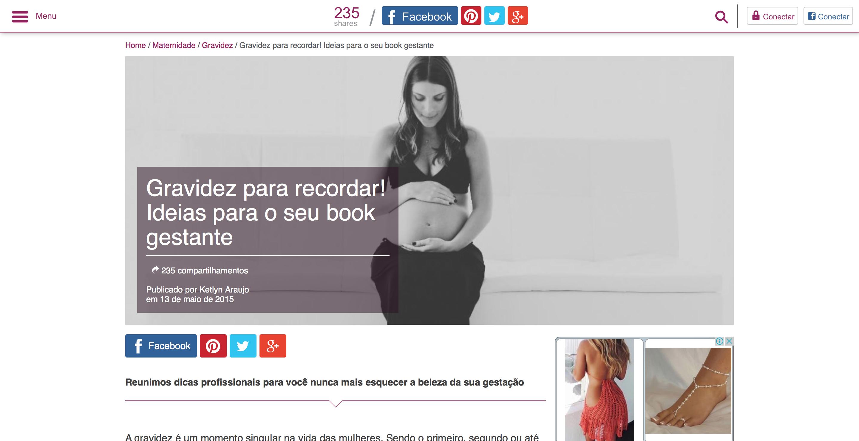 Gravidez Maternidade Tao Feminino Ideias para fotos Anna Grecco www.annagrecco.com.br