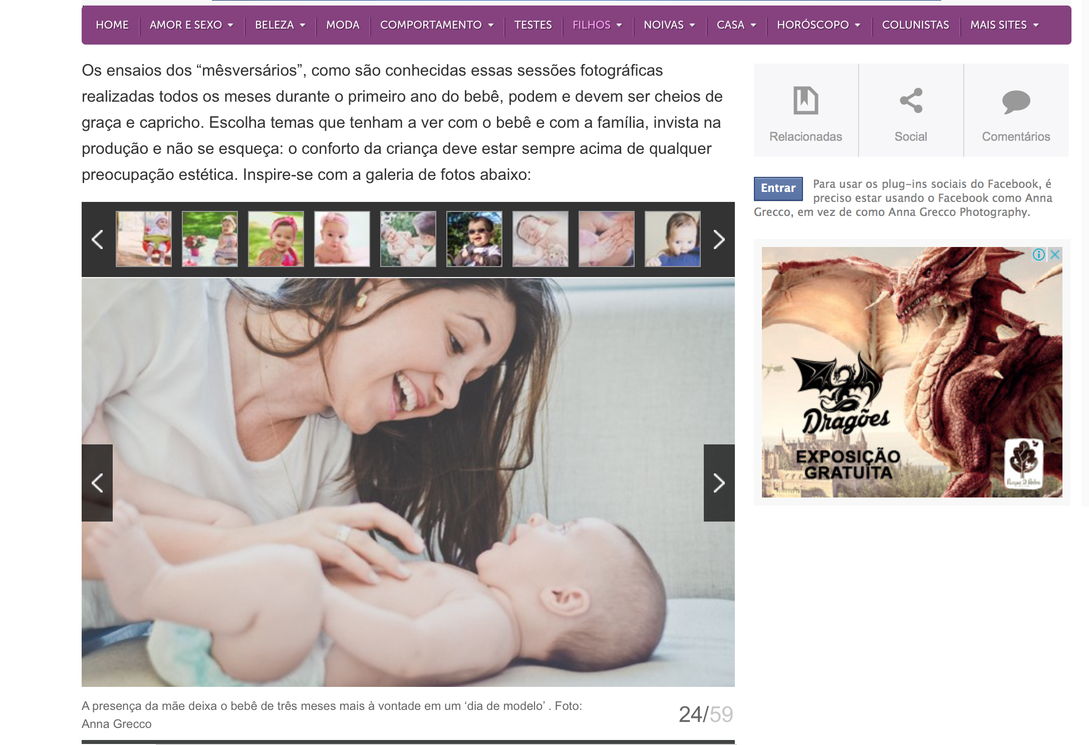 mesversarios anna greco aniversario acompanhamento crescimento do bebe www.annagrecco.com.br bebes baby