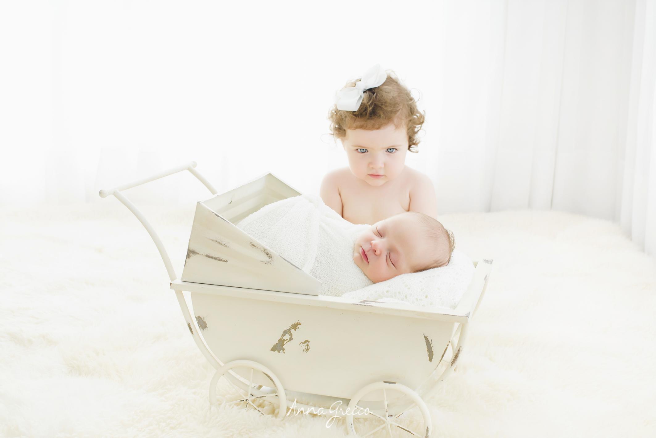Sessão de fotos newborn - Estudio Anna Grecco