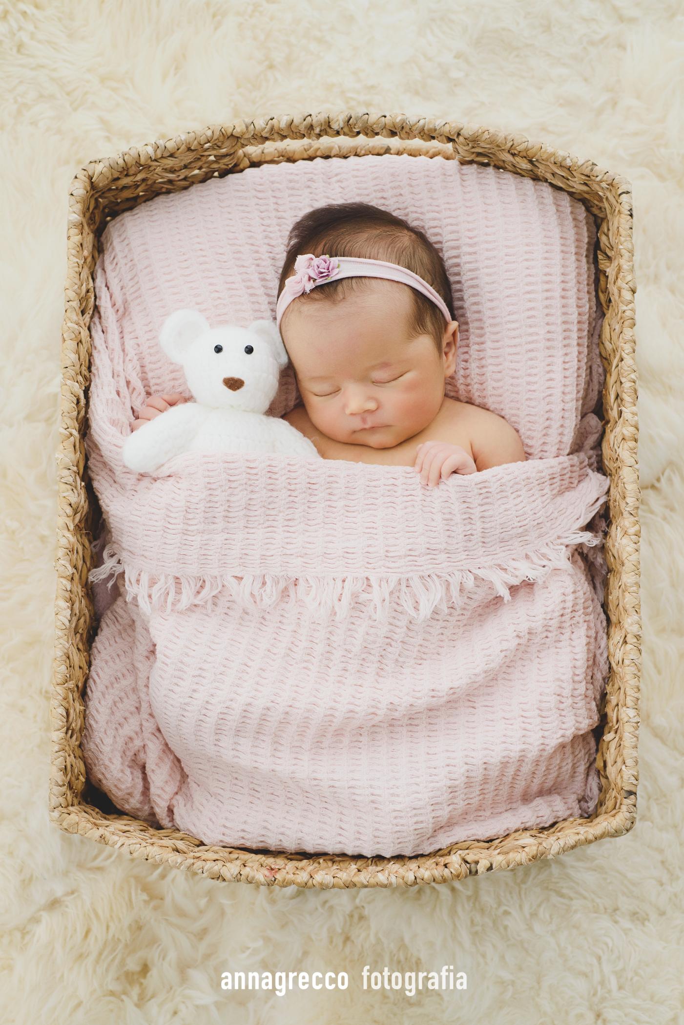 Newborn - Anna Grecco - Estúdio de fotografia em Campinas, book de bebês, newborn, recém-nascido